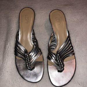 Ann Taylor loft sandal heels size 9